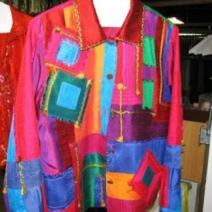 multi Color Thai Shirt dry cleaned