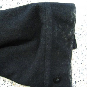 wool Coat before organic dry cleaning berkeley