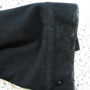 wool Coat before organic dry cleaning berkeley